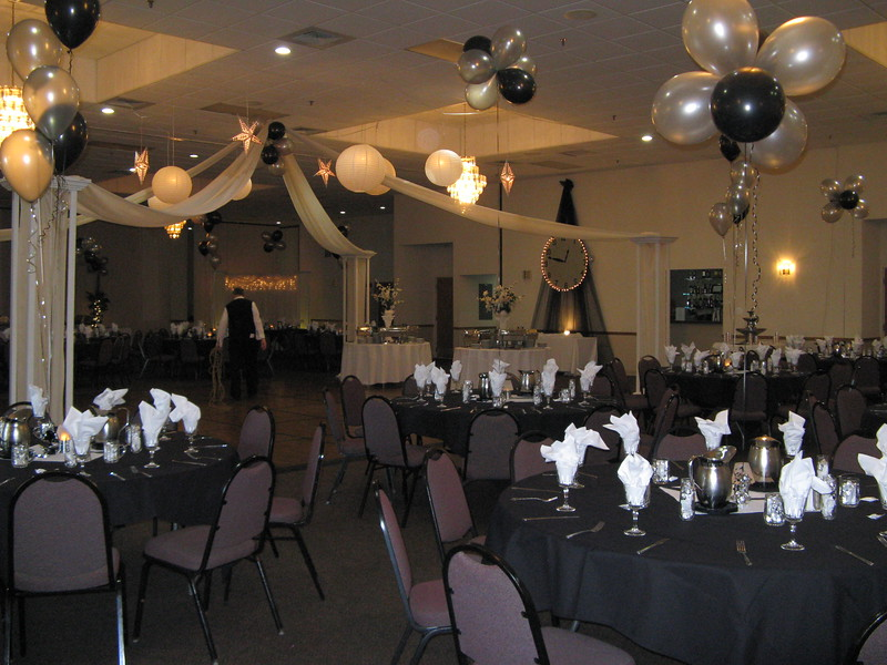 "Black and Silver Prom- "" A Moment in Time"".<br /> Maneeley's in South Windsor"