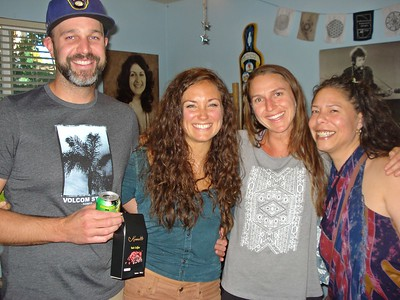Andy, Trish, Laura and Stacie