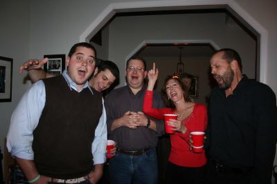Praise Team Christmas Party 2008