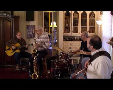 Pete Drum....horns,Bob Foster....guitar,Jim Ashley....bass,Kevin Hughey....percusion