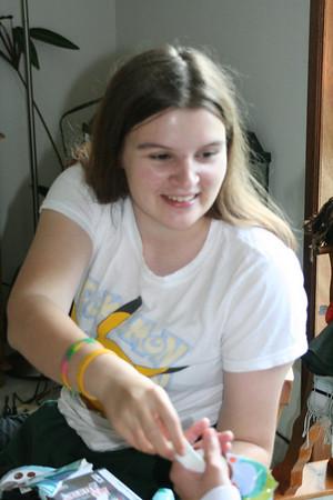 Rebecca's 17th Birthday party & birthday...