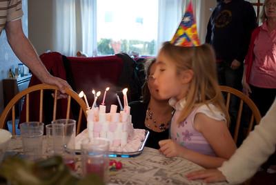 Rebekah's Birthday - 2010