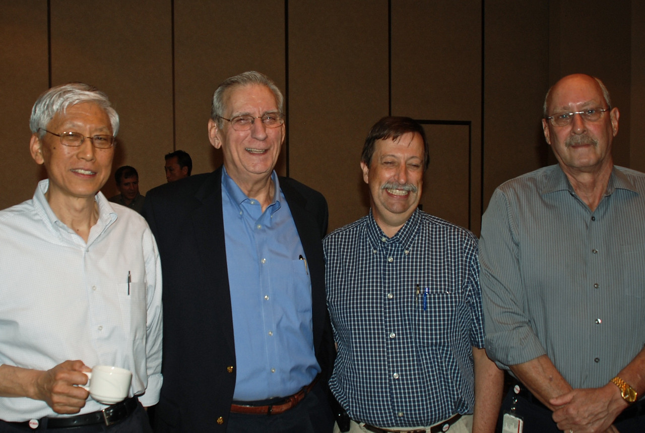 John Chiang, Don Upchurch, Rich Ericson, and Tim Thomason