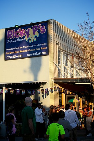 Ricky P's Mardi Gras Orleans Bistro Week-end 2013