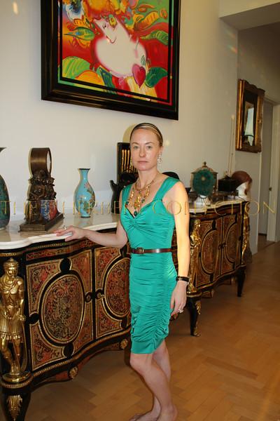 Our hostess, Robin Cofer