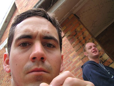 How does this work? Trent (left), and Rob.