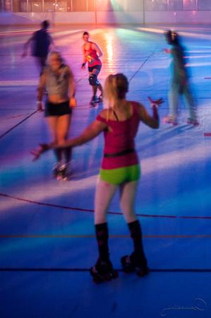 Roller Skating 80's Party May 2014