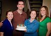 Surprise for Ron, with Danielle, Jenn, & Michelle
