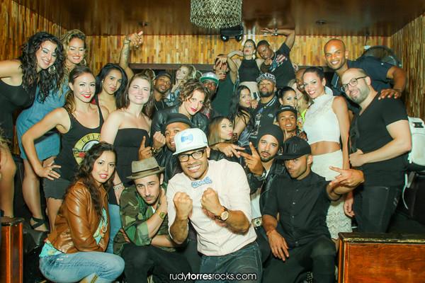 DJ Paris Paul's Birthday at Cherry Poppin' Wednesdays at the Room, Hollywood 6.11.2014
