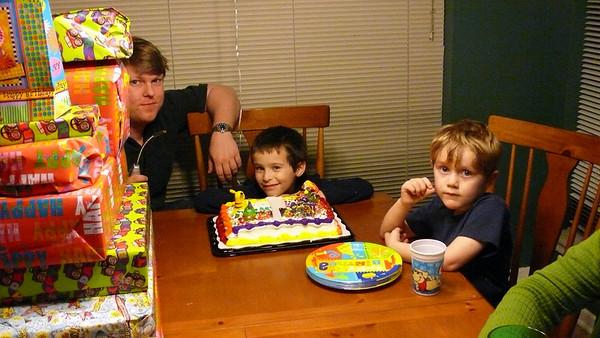 Rory's 7th Birthday 2009