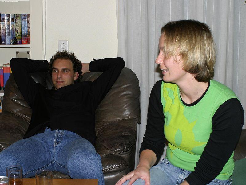 Michiel and Petra
