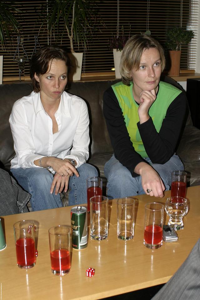 Natalie and Petra focused on Imro's explaination