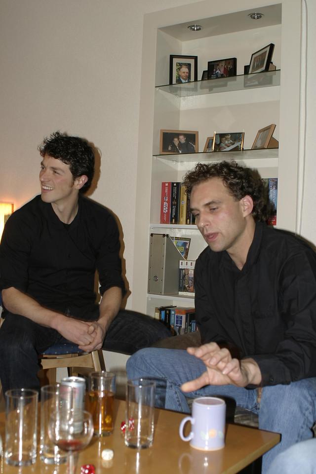 Daniel and Michiel