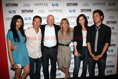 Reemsha Shetty, Mark Feuerstein, Chris Mcumber Bonnie Hammer, Jill Flint, Poulo Costanzo 2