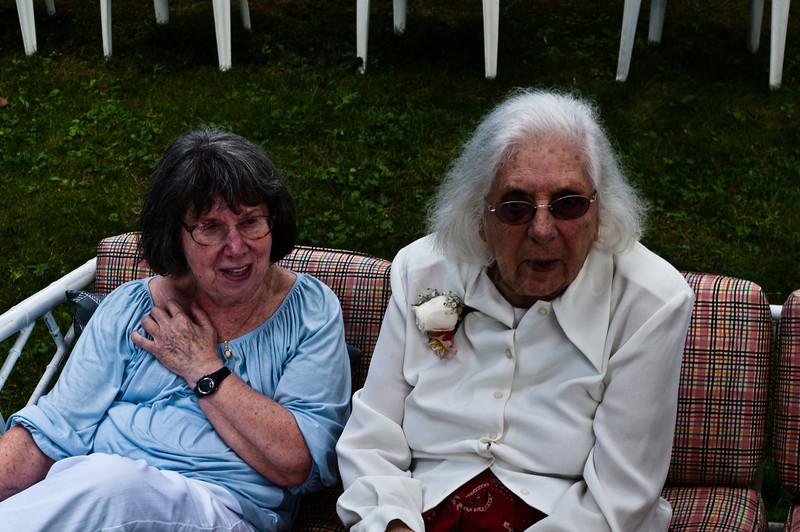 Leona and Mom