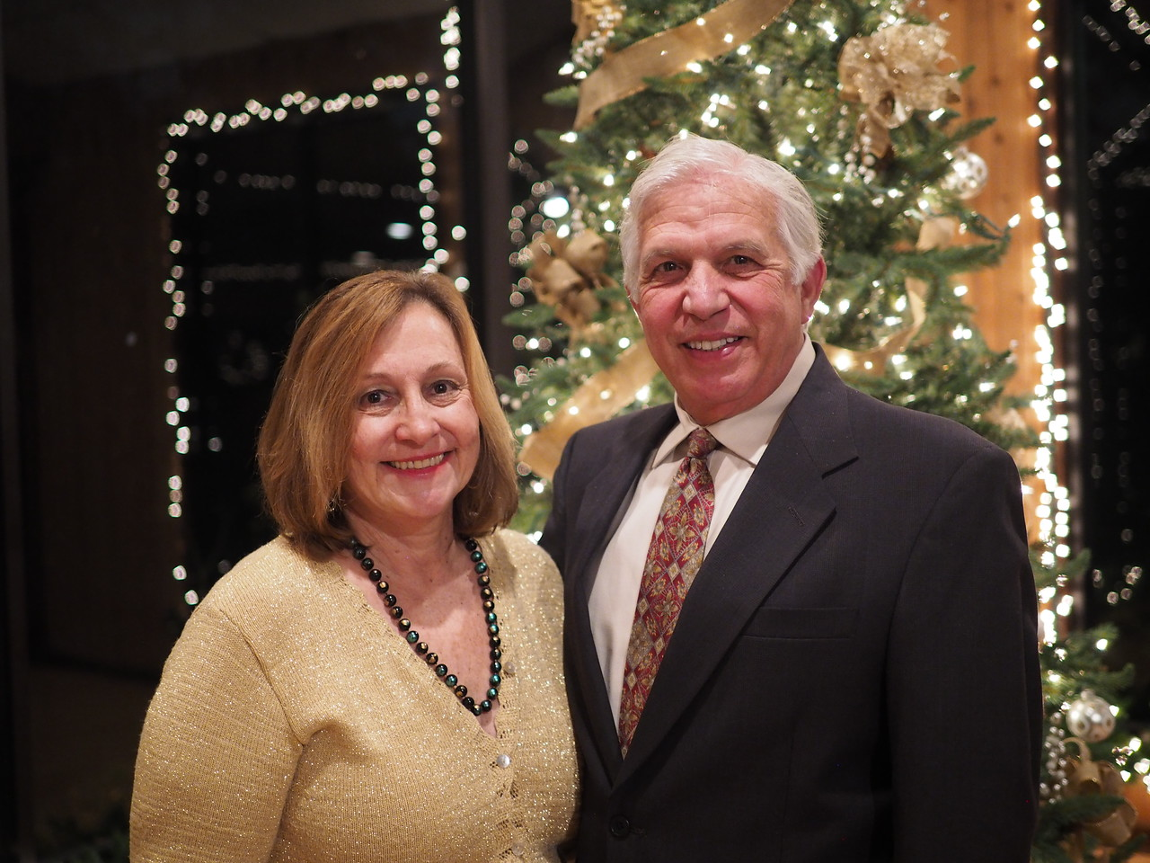 2014 Christmas Party for Tomball Promenaders