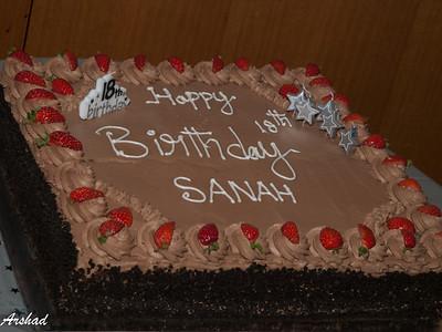 Sana's 18th