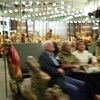 ► PRESS ► PLAY (above) for a short video!<br /> At Prospect Park's historic carousel. <br /> Help! I'm getting dizzy shooting this!
