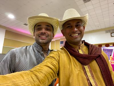 Amit and me.