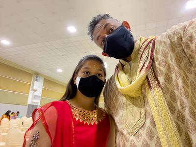 Riya and me!