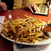 We thought, rather than having fries with our meals, we would share them as an appetizer.  These were particularly good and served with curry ketchup.