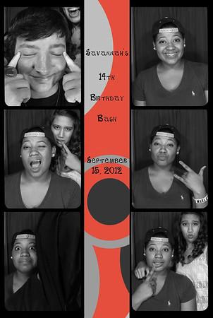 Savannah's 14th Birthday Bash