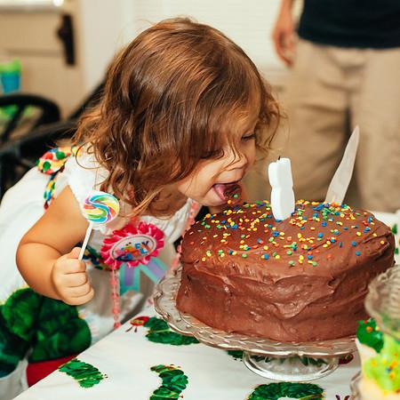 Scarlett's Very Hungry Caterpillar Birthday Party