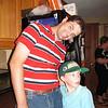 Eric & son Lucas (David's same-aged friend & fellow Packers fan!)
