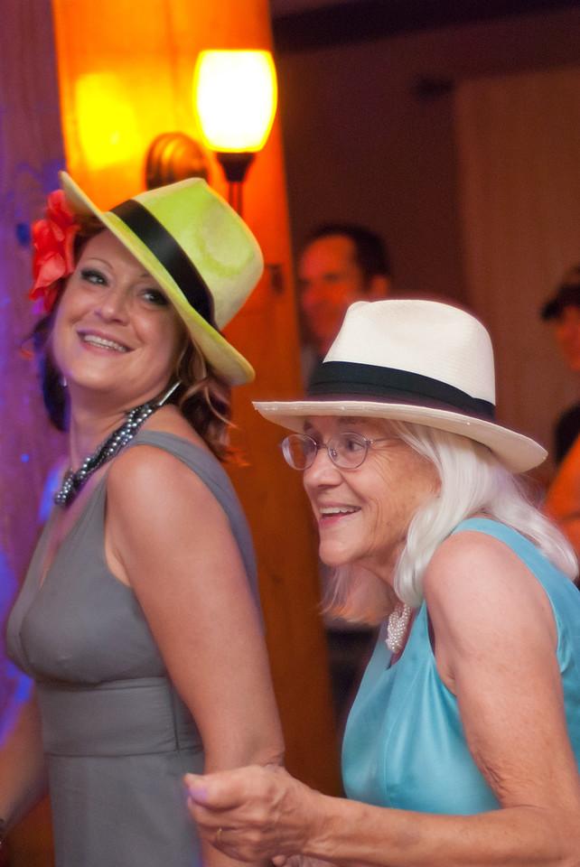 Caroline and Kathleen