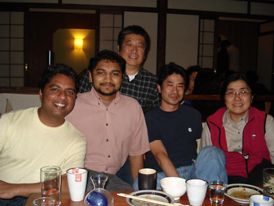 Farewell Dinner for Sato-san