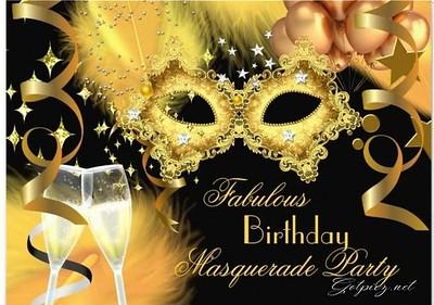 Shakilah 40th Masquerade Birthday Celebration
