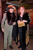 Eva Strauss-Rosen, left; Mindy Canter, rt - Sheila Ash birthday party