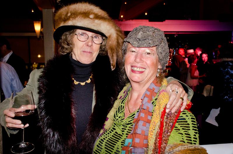 Eva Strauss-Rosen, left - Sheila Ash birthday party