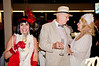 George Von Bozzay, center; Cheryl Haley, right - Sheila Ash birthday party