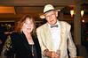 Mindy Canter, left; George Von Bozzay, right - Sheila Ash birthday party