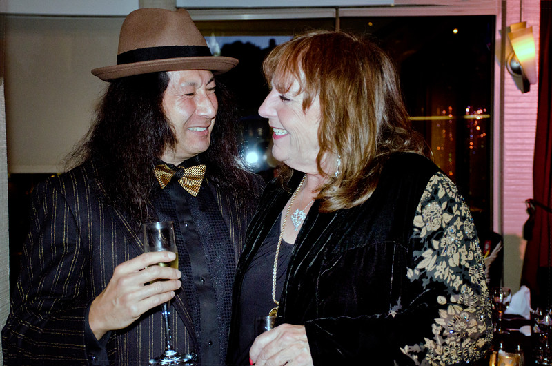 Mindy Canter, right - Sheila Ash birthday party