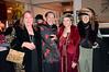 Mindy Canter, left; Henry Him, 2nd on left; Ludmmila Kisseleva Eggleton, 2nd on rt; Eva Strauss-Rosen, right - Sheila Ash birthday party
