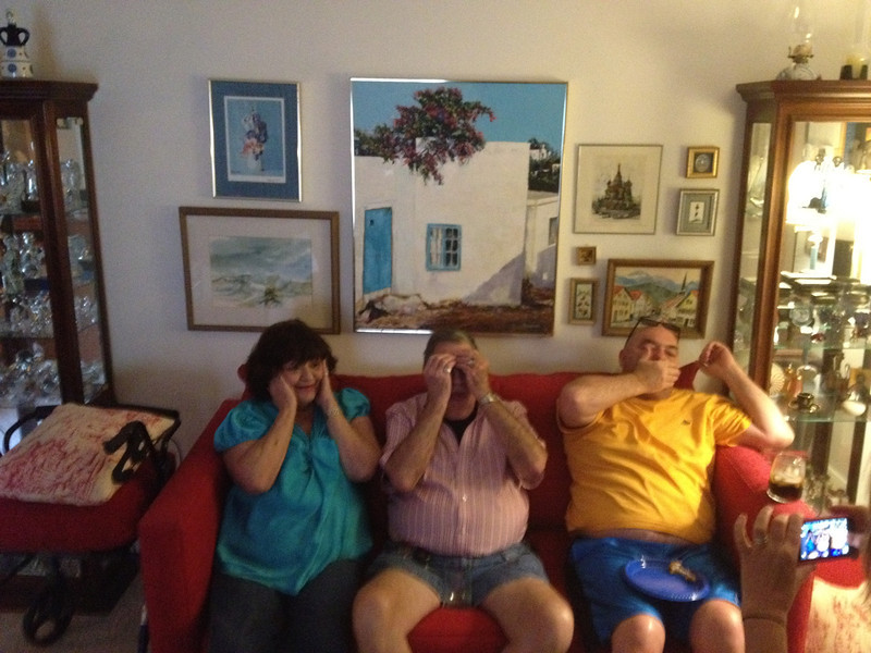 Hear no evil, see no evil, speak no evil!