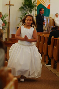 Siobhan's 1st Communion