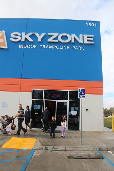 Sky Zone Party Jan 2013