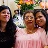 Sonia Fernandez 75th Surprise Birthday Party, 3/3/13 - Charlotte, NC: Sonia with daughter, Sonia (left) and niece, Kim (right).