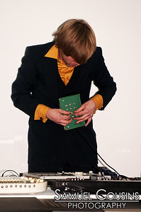 Computer at Sea performing at Space Gallery's Icing New Year's Eve Party