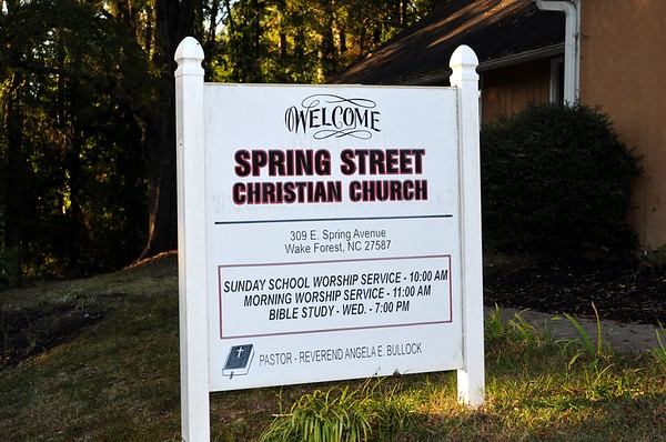 Spring Street Christian Church's Banquet
