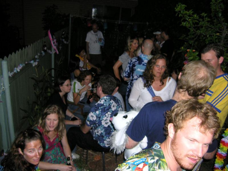 Party shot