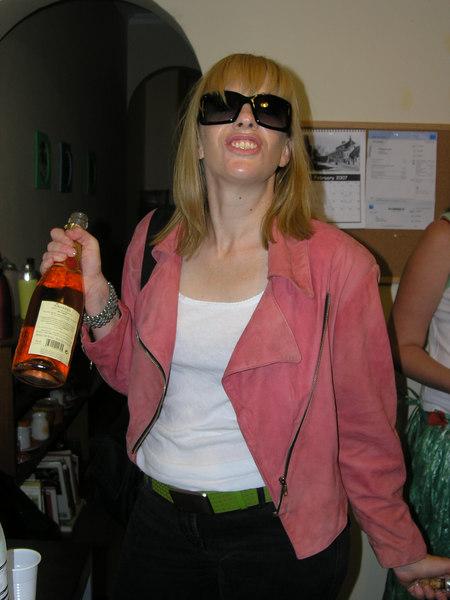 Rock star Emma