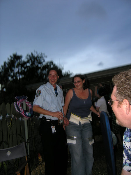 Adam arrests Vickie