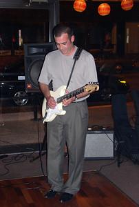 JR on guitar