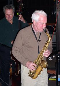 Ken Kloit on bass, Don Sturner on sax.