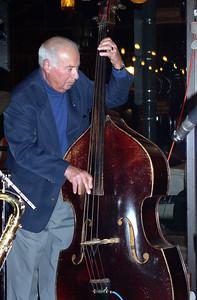 Val Eddy on bass