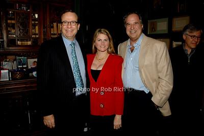Barry Grove, Bonnie Comley and Stewart F. Lane